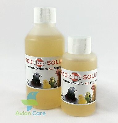 RED STOP SOLUTION Red Mite CHICKENS BIRDS POULTRY PIGEON
