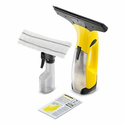 NEW Karcher WV2 Plus Vac Cordless Rechargeable Glass Window Vacuum Cleaner Kit