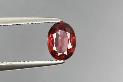1.370 Cts FULL FIRE 100% NATURAL EARTH MINE RED ZIRCON LOOSE GEMSTONE GEM~!!!
