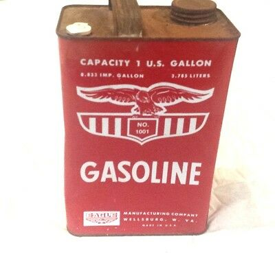 Eagle Gas Can No. 1001 Metal Gas Can (1 Gallon)