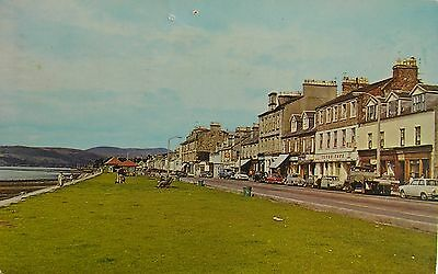 Classic Cars In Nostalgic West Clyde Street Helensburgh Dunbartonshire Early Pc