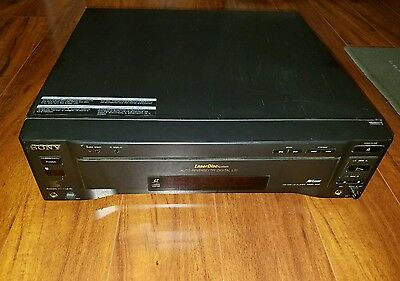 Sony MDP-600 Laser Disc System, CD, CDV & LD MDP600 Laserdisc Parts Only