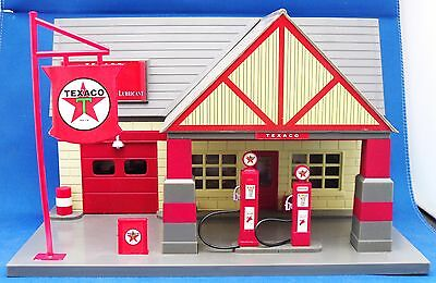 Texaco 1940 Replica Gas Petrol Service Station Model Diorama Old Timer Collectio