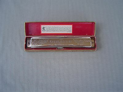 """""""the Up To Date Goliath"""" Model 453/48 M """"c"""" Tremelo Harmonica By M. Hohner & Box"""