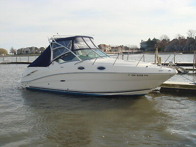 2007 Sea Ray 270 Amberjack~324 Hours~6.2 Mercruiser~CLOSED COOLING~Bravo 3~CLEAN