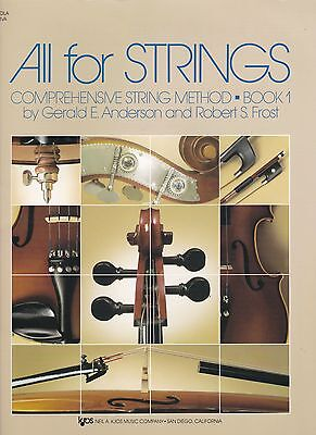 All For Strings Comprehensive String Method Book 1
