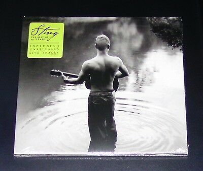 Sting The Best Of 25 Years Cd Schneller Versand Neu & Ovp