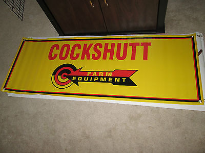 Cockshutt Antique Vintage Equipment Tractor Banner Large