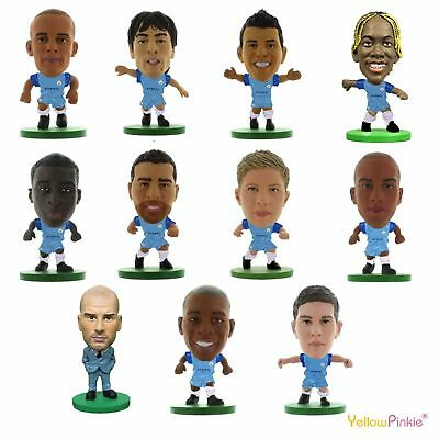 OFFICIAL FOOTBALL CLUB - MANCHESTER CITY SoccerStarz Figures (2017) Gift