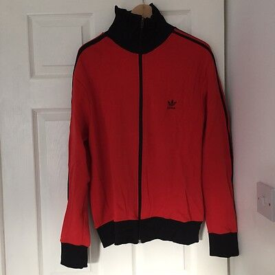 Adidas Vintage Track top Size-M