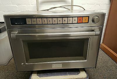 Panasonic Commercial Microwave. Catering, stainless steel.