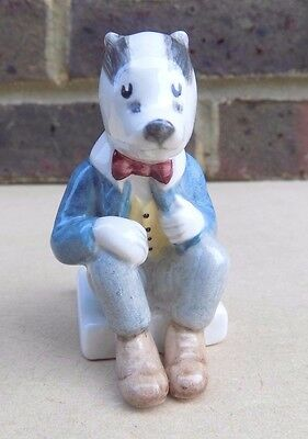 BESWICK Rupert Bear and Friends Figurine - Bill Badger