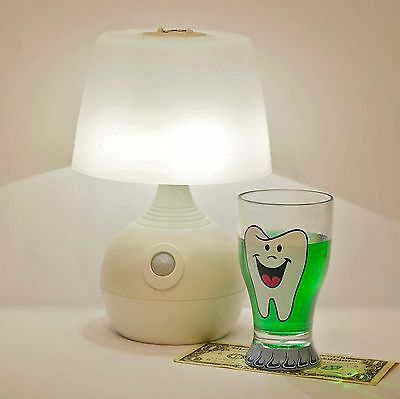 Tooth Fairy Glass Set with Book - Girls