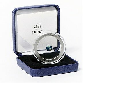NEW 5 Euro The Earth 2016 Latvia Lettland silver coin PROOF silber Münze