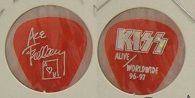 Kiss - Ace Frehley - 1996 - 97 Red Alive Worldwide Tour Concert Guitar Pick