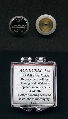 """Accucell-1 Battery For Bulova Accutron  Power Cell  """"CLARK"""""""