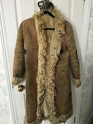 Original 1960's Afghan Coat Bought From Carnaby St