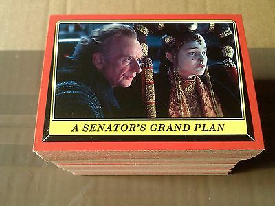 Star Wars Rogue One Mission Briefing Complete 110 Card Set - Topps - 2016