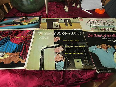 6x monty python/ the goonies/ peter sellers LPs