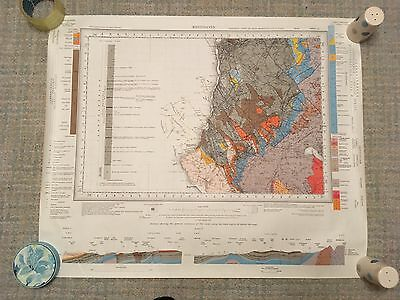 Geological Survey Map 1:50000 series WHITEHAVEN solid sheet 28