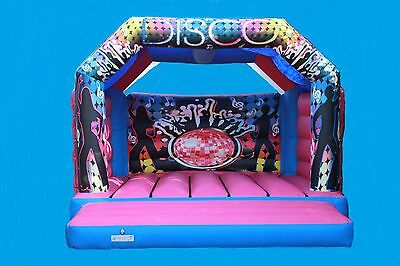 Commercial 17x16 Adults Bouncy castle with Rain Cover