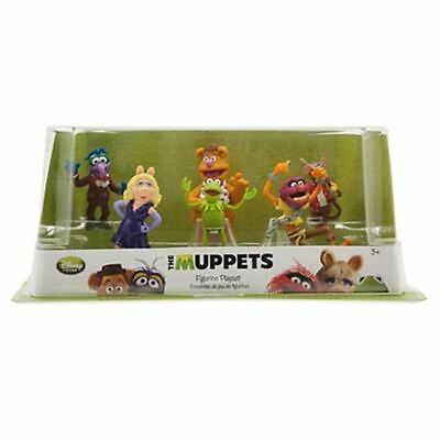 New Official Disney The Muppets 6 Figurine Playset