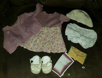 American Girl Kit Kittredge Meet Outfit Top, Skirt, Sweater, And More