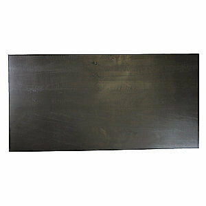 "E. JAMES Rubber Sheet,EPDM,1/4""Thick,36""x12"",40A, 3065E1/4EPDM4D"