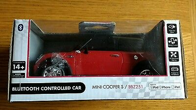 NEW BeeWi Bluetooth Controlled Mini Cooper Car for Apple iPhone,iPad,iPod touch