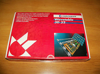 Commodore Wavetable 3D 32 Aztech Crystal ISA Sound Card - Brand New & Boxed