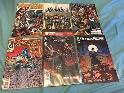 10 X Mixed Marvel / DC / indie Comics LUCKY DIP