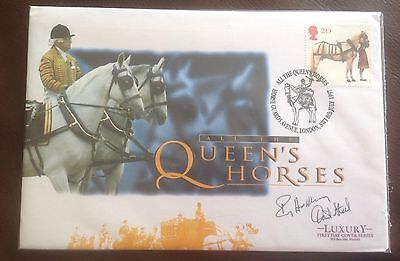 First Day Cover Hand signed by Roy Hattersley and David Steel