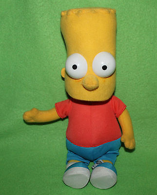 The Simpsons 2005 United Labels Bart Puppe Stoffpuppe Stofftier 42cm RAR TOP