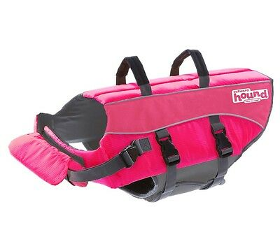 Outward Hound Kyjen Pink Ripstop Life Jacket Dog Life Preserver Extra Large