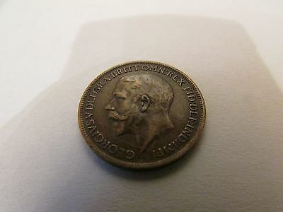 1919 Farthing Coin  Uk Delivery Only