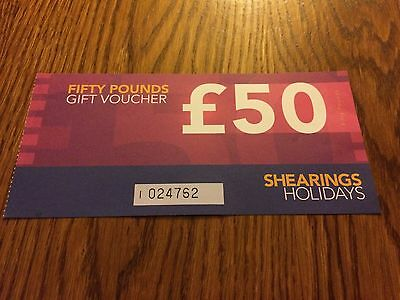 Shearings Holiday £50 Gift Vouchers