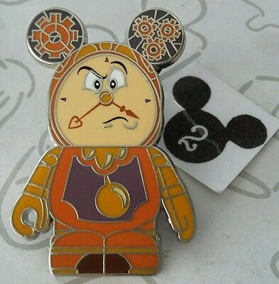 Cogsworth The Clock Beauty and The Beast Vinylmation Disney Pin Buy 2 Save $