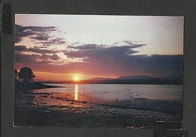 A Dixon Vintage Colour Postcard  Sunset Over Beauly Firth Ross-Shire unposted
