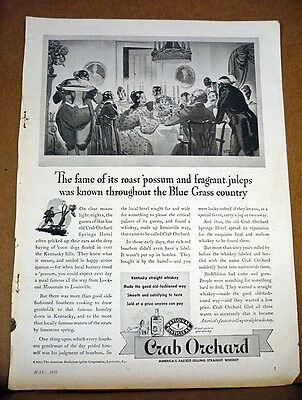 "Vintage Magazine Print Advertising - from ""Outdoor Life"" May 1935 - Crab Orchard"