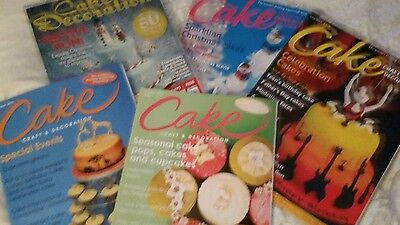 5 Cake decorating magazines for yearly events