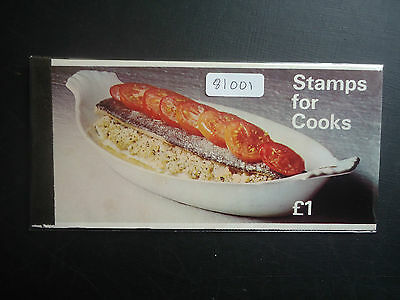 Great Britain 1969 Stamps For Cooks Booklet (ZP1a) MNH