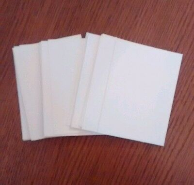 Bundle of 30 blank aceo  art cards. 300g watercolour paper 2.5 x 3.5 inch
