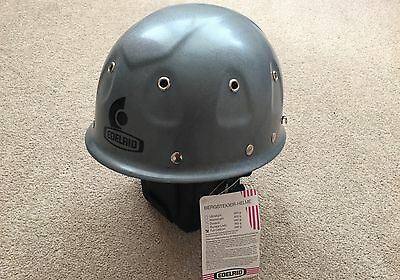 New Gray Edelrid Full Carbon Climbing Helmet With Tags Still Attached