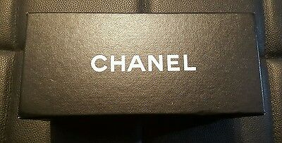 chanel empty glasses box with certificate