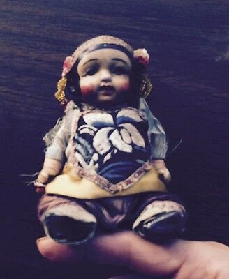 Antique Japanese  Nippon Doll