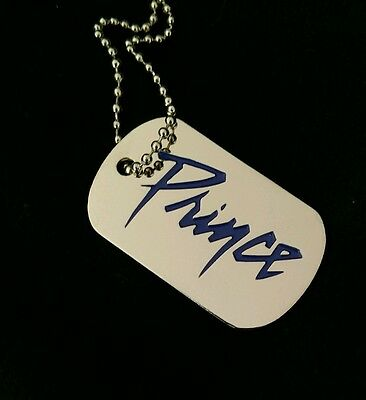 New Prince 'Nothing Compares 2 U BK Tags  Necklace or Keychain