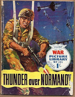 THUNDER OVER NORMANDY War Picture Library No.365 1966 WAR PICTURE LIBRARY COMIC