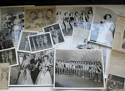 Lot 22 Vtg 1957 58 MISS WESTERN ONTARIO BEAUTY CONTEST Erotic Pin-Up Photograph