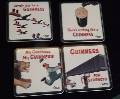 Guinness,Gilroy Classics Special Edition Coasters set + One Extra Boxed Unused
