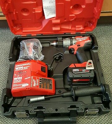 """NEW Milwaukee 12V 1/2"""" 13mm  Hammer Drill Driver Kit in Case- M18 fuel 2704-20"""